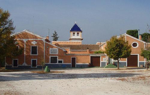 Casas del Cortijo de Rojas en Moratalla