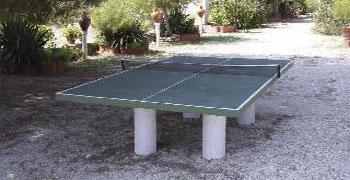 Mesa de Ping Pong del Cortijo de Rojas